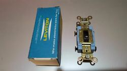 Leviton-keyed-brown-tamper-resistant-locking-industrial-switch-4-way-15a-1104-2l