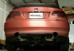 07 08 09 10 Bmw E90 E92 335i Coupe / Sedan Catback Exhaust 4 Tips Beluga Racing