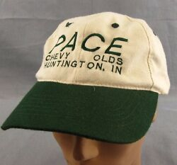 Pace Chevy Olds Baseball Hat Ball Cap Adjustable Strapback Huntington Indiana