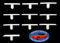Gm Cadillac Buick Oldsmobile Pontiac Chevy Wiring Harness Retainer Clips 10pc Lt
