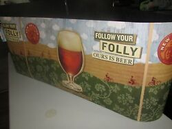 New 32 New Belgium Brewing Decorative Banner Beer Fat Tire Poster Craft