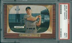 1955 Bowman 202 Mickey Mantle PSA 7 (3855)