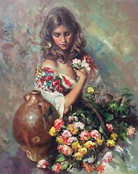 Jose Royo Sentimiento Signed And Numbered 161/240 On Panel 36 X 29 - Rare