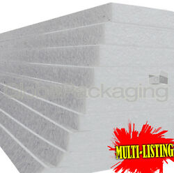 Expanded Polystyrene Eps70 Foam Packing Insulation Sheets All Sizes / Qty's