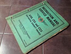 Continental A100 C115 And C125 Engines Service Manual And Parts List