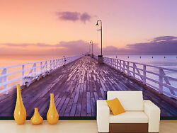 3d Sunset Clouds Pictures Wall Paper Print Decal Wall Deco Indoor Wall Mural