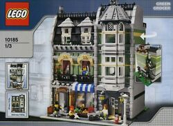 Lego Green Grocer 10185 100 Complete With Original Parts And Instructions