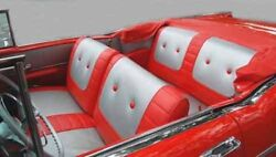 57 Chevy Bel Air Convertible Seat Covers New 1957 Chevrolet