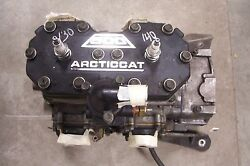ARCTIC CAT SNOWMOBILE 2000 ZL 500 CARB ENGINEMOTOR 0662-255