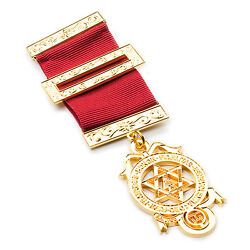 New Masonic Royal Arch Chapter Full Size Breast Jewel / Principal With Wallet