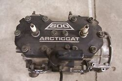 ARCTIC CAT SNOWMOBILE 2000 ZL 600 EFI SHORT BLOCK ENGINE 0662-275