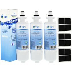 Fits Lg Lt700p And Lt120f Refrigerator Water And Air Filter Combo3 Pack