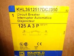 Brand New In Box Square D Khl3612517dc2350 W/ Line And Load Lugs