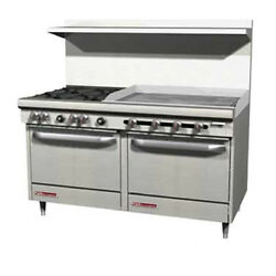 Southbend S60ad-3gl 60 S-series Gas Restaurant Range W/ Griddle
