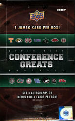2014 Upper Deck Conference Greats Football Pick A Player