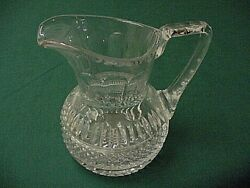 Waterford Crystal Water Pitcher Mint Vintage No Reserve See Photos Selectvintage