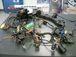 Yamaha Outboard F225 Wire Harness Assembly 69j-82590-10-00