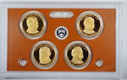 2012-s United States Presidential Proof Set With Box And Coa