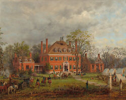 Edward Lamson Henry The Old Westover House 1869 — Giclee Fine Art Print