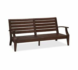 Pottery Barn Outdoor Wood Chesapeake Occasional Grand Sofa Couch Frame 9 Nib