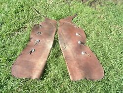 Vintage Keystone Bros Stove Pipe Batwing Chaps W/nickel Silver Conchos 1940and039s