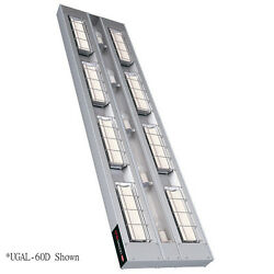 Hatco UGAL-54D6 Infrared 3180 Watt Heat Lamp with Lights and 6