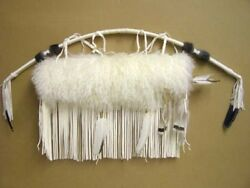 Native Cherokee Indian Leather Arctic Fox Fur Quiver Arrow 44 Bow Set - Wetfoot