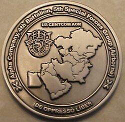 5th Special Forces Grp Airborne 4th Battalion A Co Oda-5411 Army Challenge Coin