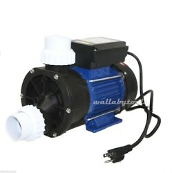 3/4 Hp Electric Water Pump Pond Spa Pool Pumps Supply 85gpm