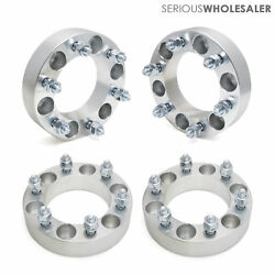 4x Wheel Spacers Adapters 1.5'' 6x5.5 12x1.5 Fit Toyota Tacoma 4runner 6 Lugs