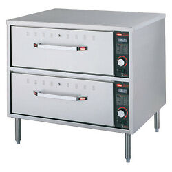Hatco Hdw-2 Warming Drawer With 2 Drawers And Stainless Steel Construction