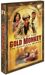 Tales Of The Gold Monkey The Complete Series [new Dvd] Full Frame Di