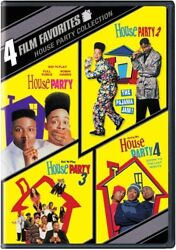 4 Film Favorites House Party Collection [new Dvd] Full Frame Widescreen