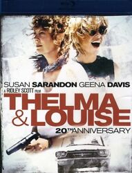 Thelma amp; Louise New Blu ray Anniversary Ed Dolby Digital Theater S
