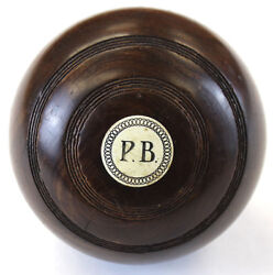 Paul Brown P.b. Jaques And Son Lawn Bowling Ball