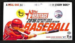 2016 Topps Heritage Baseball - Pick A Player - Cards 1-200