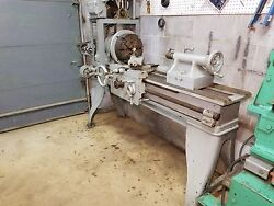 Antique Metal Lathe William Barker And Co. 1887-1900