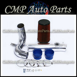 Blue Red Cold Air Intake Kit Fit 2004-2011 Mazda Rx8 Rx-8 Engine