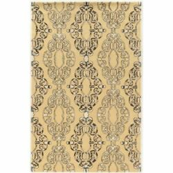 Bowery Hill 8and039 X 11and039 Hand Tufted Rug In Cream And Blue