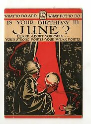 Booklet For Is Your Birthday In June Learn About Yourself Strong/weak Points 30