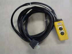Hitachi Gantary Crane Remote And Wire Harness 18and039 Ft Marine Boat