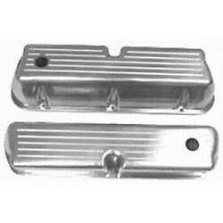 Racing Power Rpc R6172 Engine Valve Covers Polished Alum Sb Ford Tall Valve Co