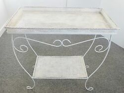 Large Window Box Double Plate 1950 Vintage 50#x27;s Rockabilly French Planter