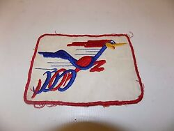 Early Vintage 5.5 Roadrunner Patch Badge Label Plymouth Mopar Car Advertising