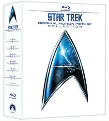 Star Trek The Original Motion Picture Collection [new Blu-ray] Boxed