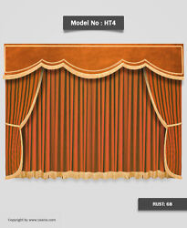 Saaria Home Theater Curtains Stage Movie Hall Event Decor Drapes 20'W x 12'H HT4