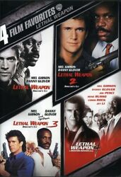 4 Film Favorites Lethal Weapon [new Dvd]