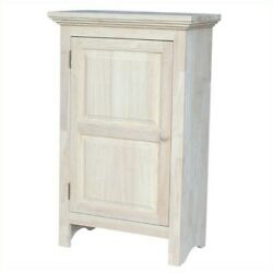 International Concepts Home Accents Unfinished 36 Single Jelly Cabinet