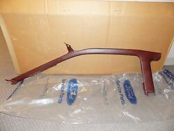 New Oem 1991 Ford Probe Scarlet Red Interior Moulding Trim Piece Molding Right