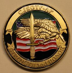 5th Special Forces Airborne Oif Cjsotf-ap Dagger Military Army Challenge Coin